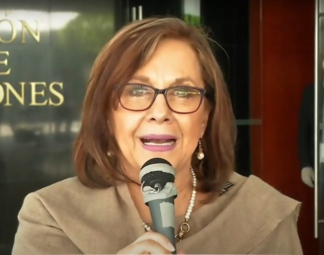 Martha Lucía Micher é senadora