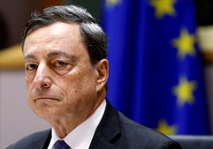 O presidente do Banco Central Europeu (BCE), Mario Draghi