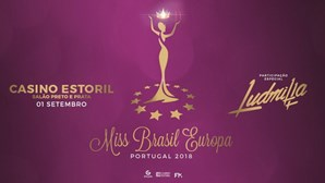 Eleição Miss Brasil Europa Portugal 2018 no Casino Estoril