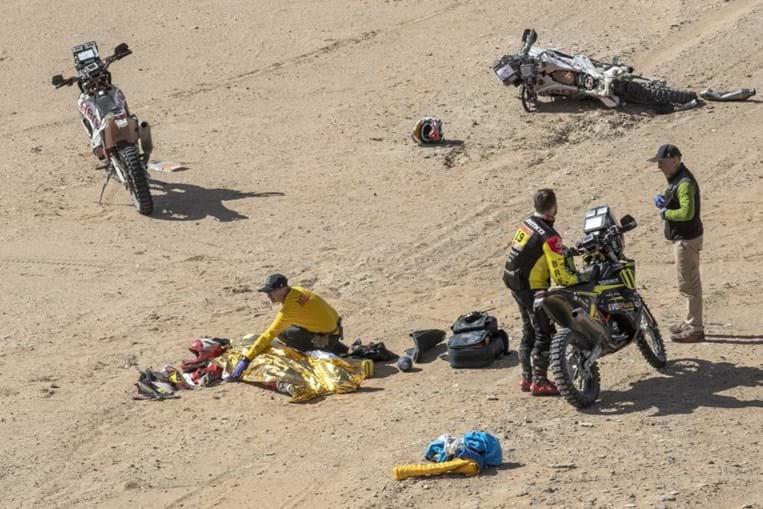 Queda brutal mata Paulo Gonçalves no Dakar 2020